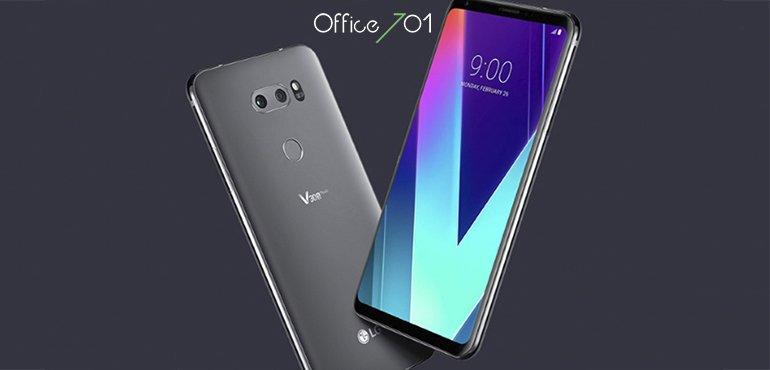 Office701 | LG'NİN YENİ ÇIKARACAĞI TELEFON MODELİ V40'TA 5 KAMERA OLACAĞI BEKLENİYOR