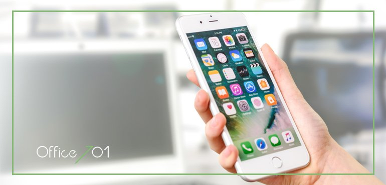 Office701 | IPHONE IS EVERYWHERE YOU GO!