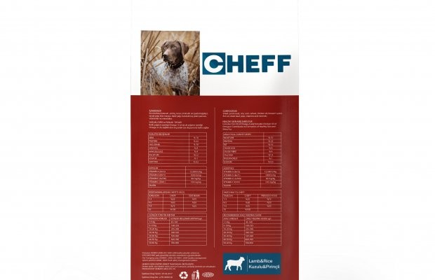 Office701 | Cheff | Dog Food Package Design