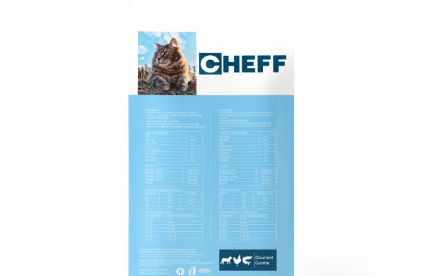 Office701 | Cheff | Cat Food Package Design