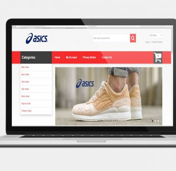 Office701 | Asics | E-Commerce Website