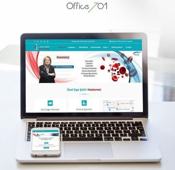 Office701 | Ege City Hospital Hair Transplantation | Healthcare & Medical Website
