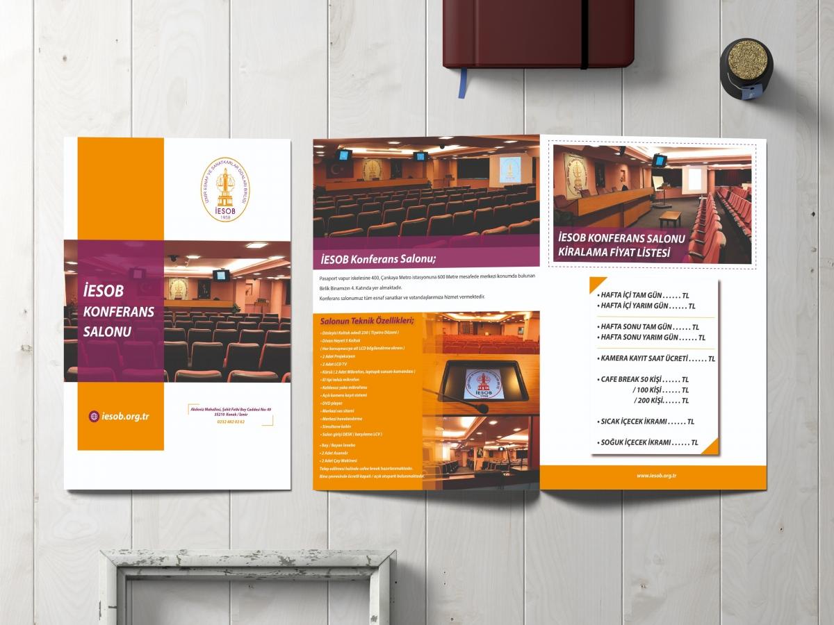 Office701 | İESOB Konferans Salonu Tanıtım Broşürü