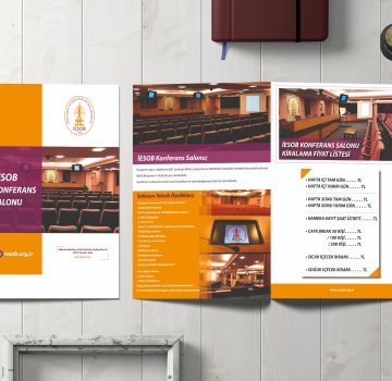Office701 | IESOB Conference Hall | Brochure Design