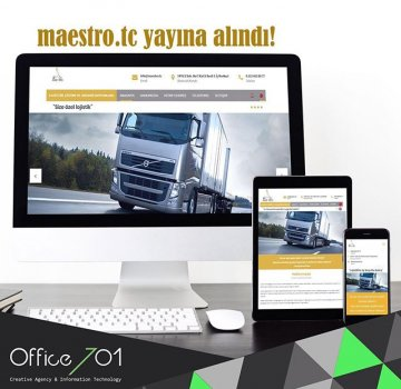 Office701 | Maestro Lojistik | Transportation & Logistics Website