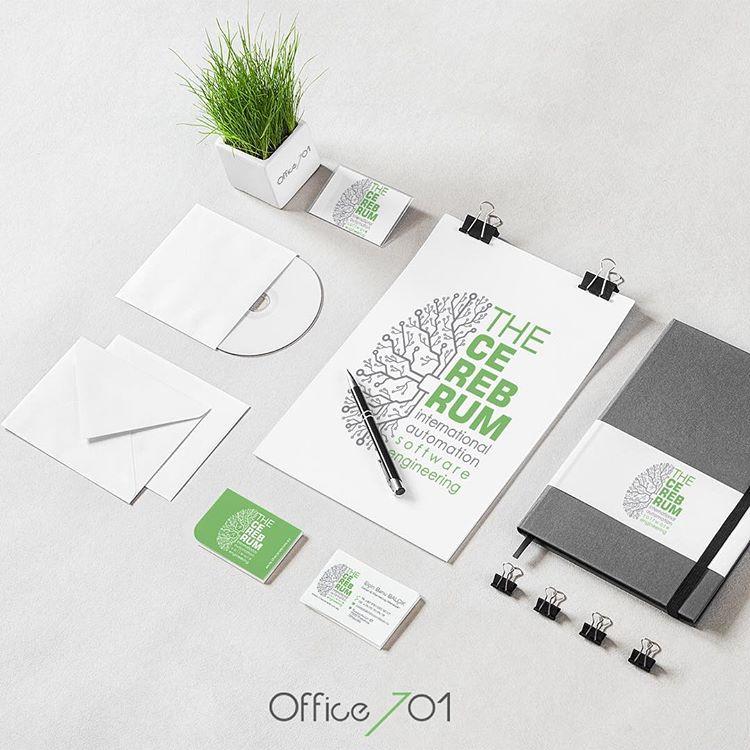 Office701 | The Cerebrum | Corporate Identity Design