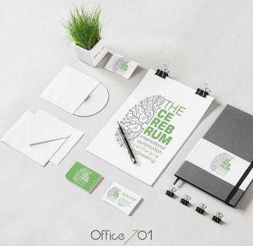 Office701 | The Cerebrum | Corporate Identity Branding