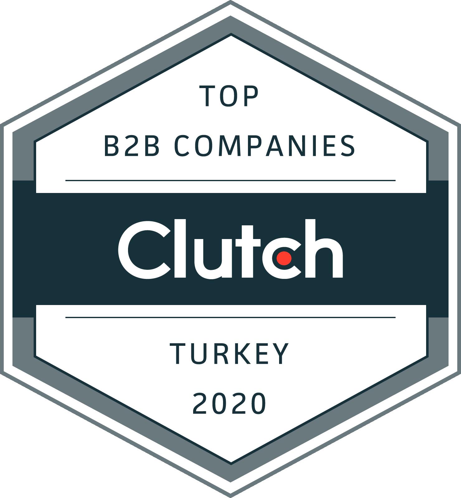 top b2b company badge