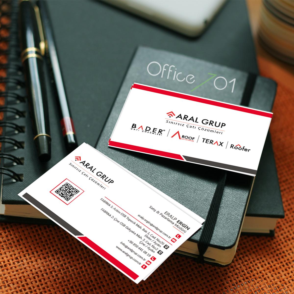 Office701 | Aral Grup | Corporate Identity Design