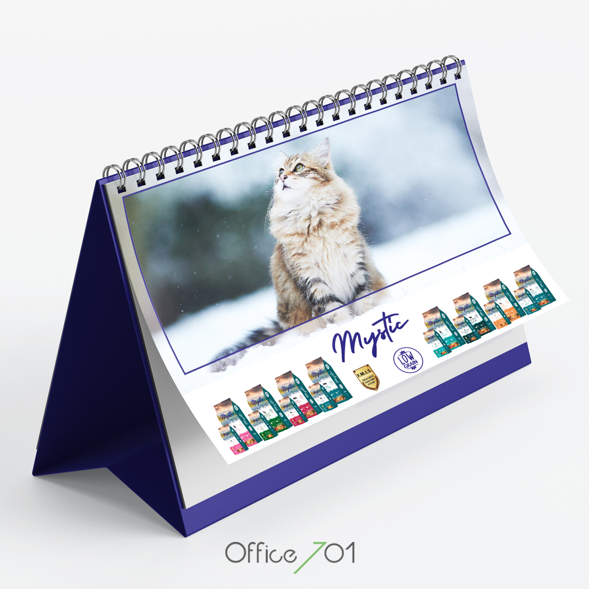 Office701   Mysticpetfood Takvim Tasarımı