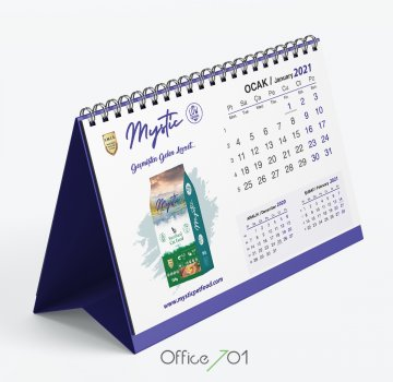 Office701 | Mysticpetfood | Calendar Design