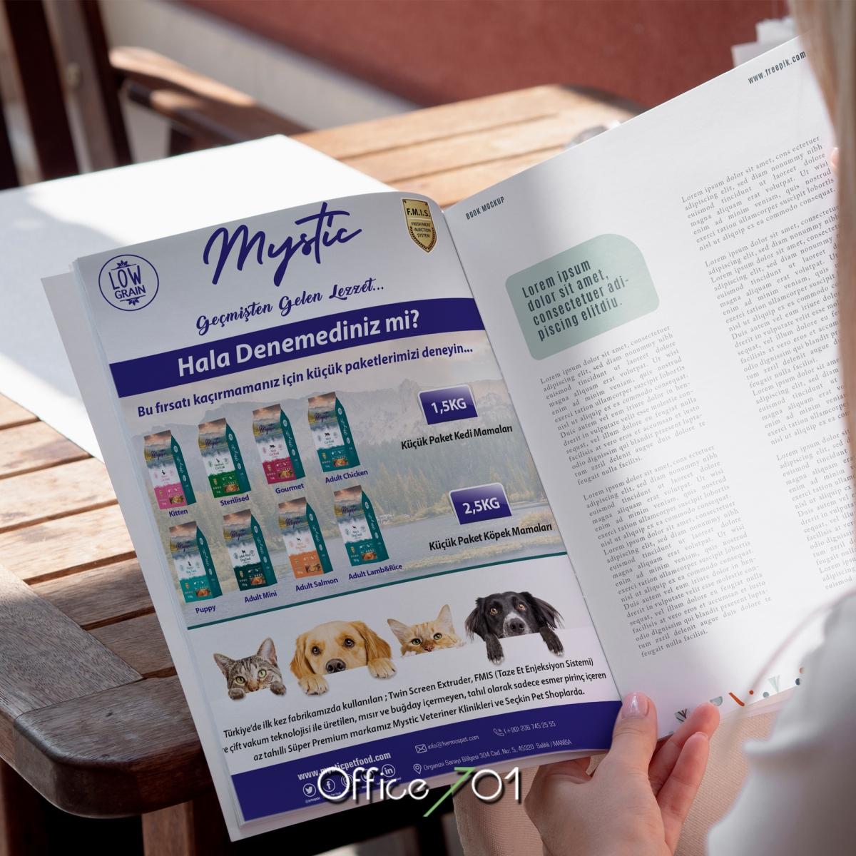 Office701 | Mystic Dergi Tasarımı