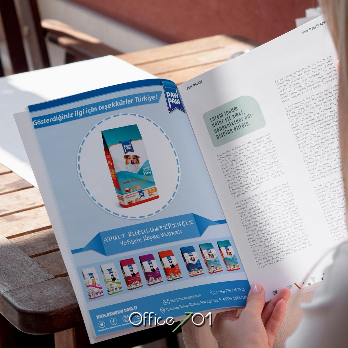 Office701 | Pawpaw | Magazine Design