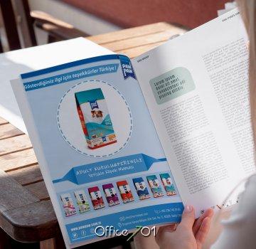 Office701 | Pawpaw Dergi Tasarımı