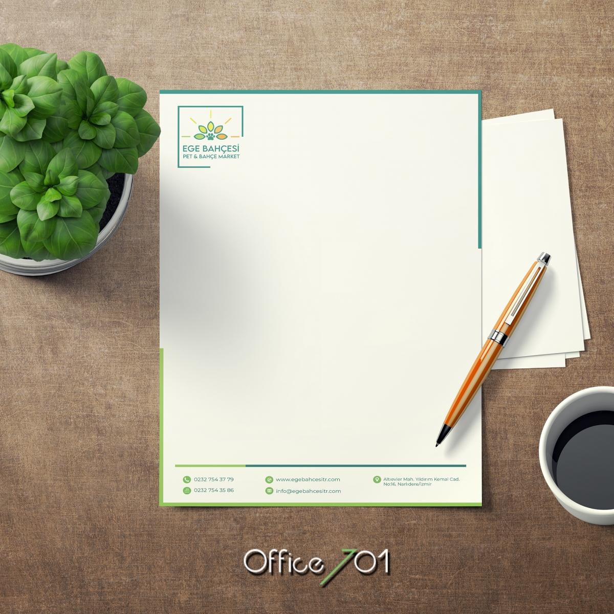 Office701 | Ege Bahçesi Notluk Tasarımı