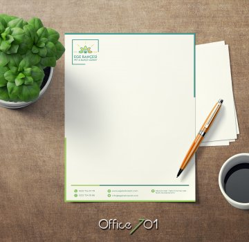 Office701 | Ege Bahçesi | Block Note Design