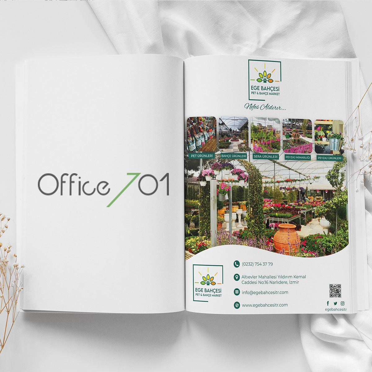 Office701 | Ege Bahçesi Dergi Tasarımı