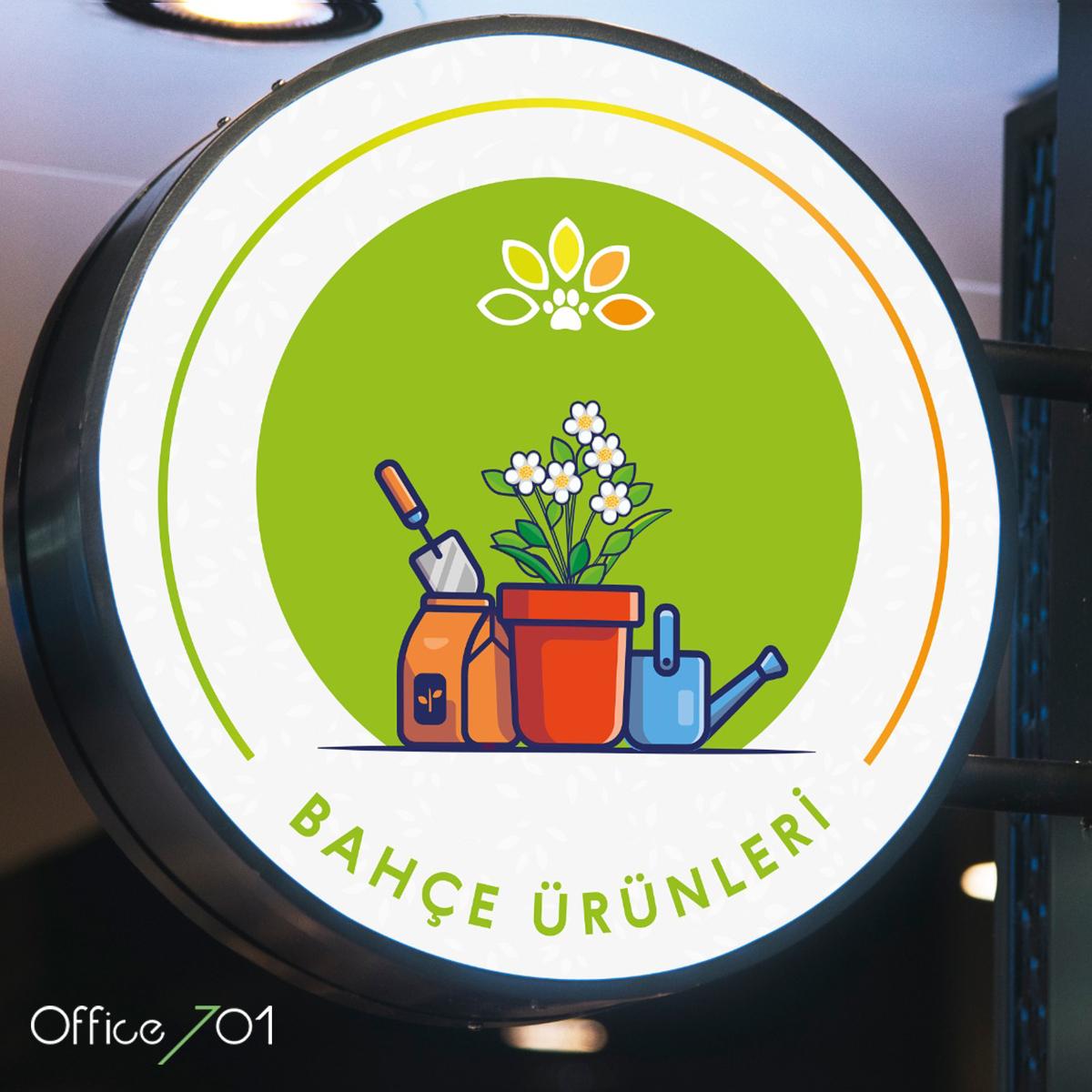 Office701 | Ege Bahçesi Tabela Tasarımı